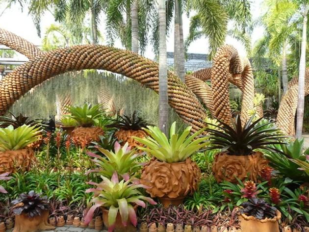 Suan Nong Nooch Imagenes Bellas Jardin Tropical Tailandia