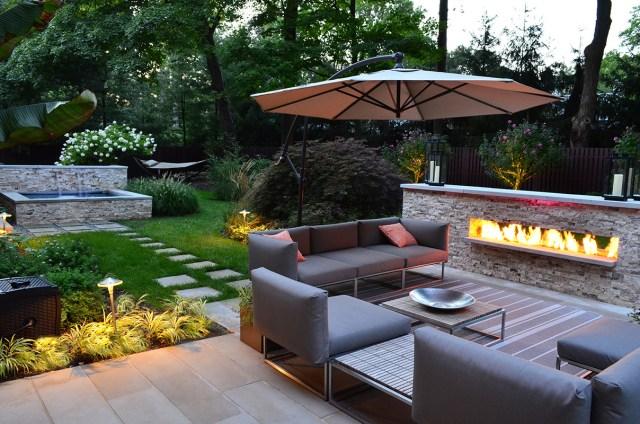 Diseños elegantes y minimalistas para el jardin