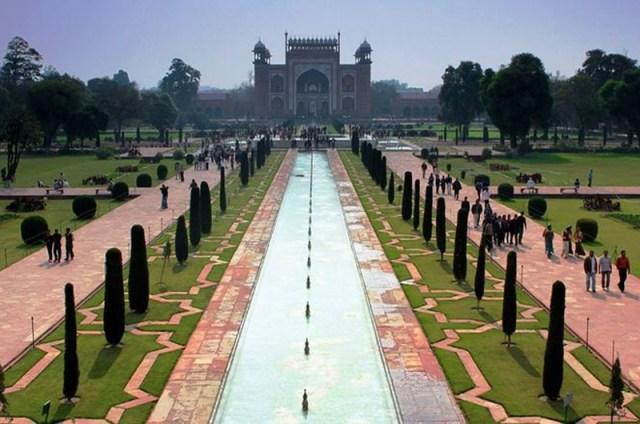 Fotografias del jardín Shalimar en Pakistan