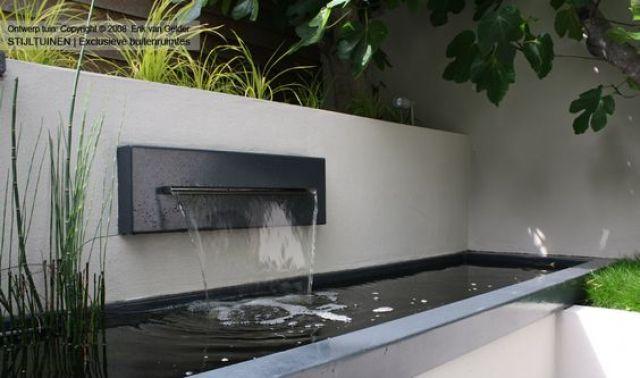 Fotos de jardines decorados con jardines de agua