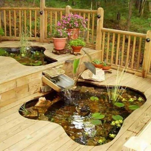 Fuentes de agua para decorar jardines y terrazas imagenes