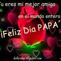Imagen de Rosas y Corazones Feliz Día Papá
