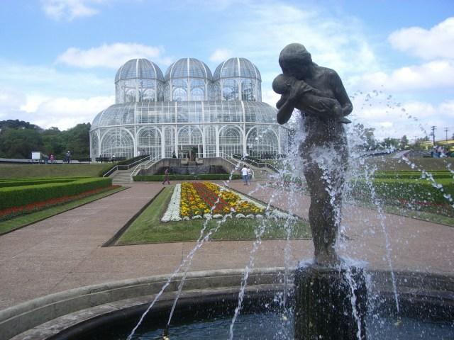 Imagen del Jardin Botanico Curitiba Para Usar Como Fondo De Pantalla