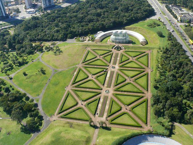 Imagenes Del Jardín Botánico de Curitiba Brasil