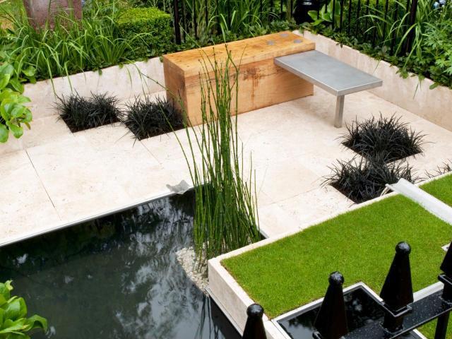 Imagenes con ideas diseño jardines modernos