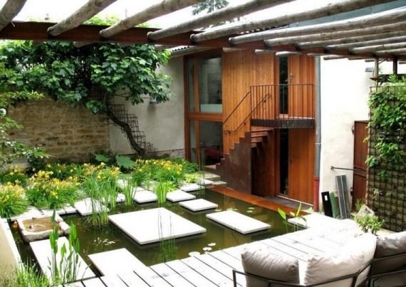 Imagenes de casas con jardines y terrazas