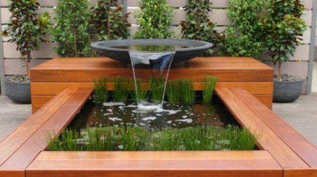 Imagenes de lindas fuentes de agua para decorar el jardin