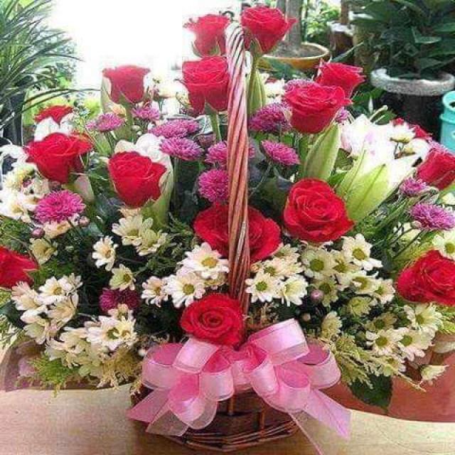 Imagenes de ramos de flores para compartir en facebook