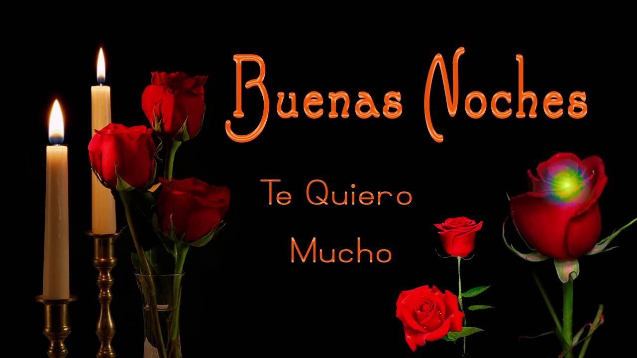 """Imagenes de rosas con frases de buenas noches para un amor """""""