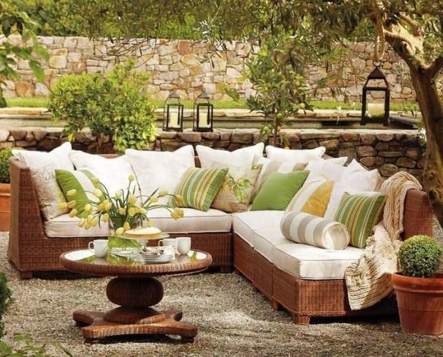 Imagenes decoraciones de zonas de estar para jardines