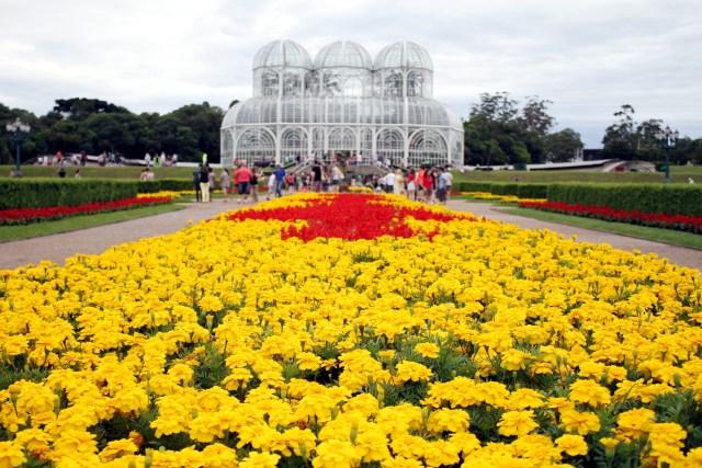 Jardines Curitiba Para Fondo De Escritorio