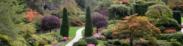 Lindas imagenes del jardin mas hermoso en Canada el Butchart