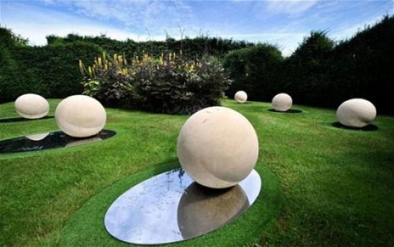 especulacion cosmica jardines de Escocia