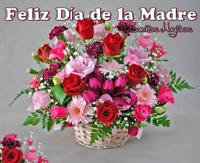Imágenes Día De La Madre Para Whatsapp Y Facebook: Imagenes Bonitas De Ramos De Flores Feliz Día De Las