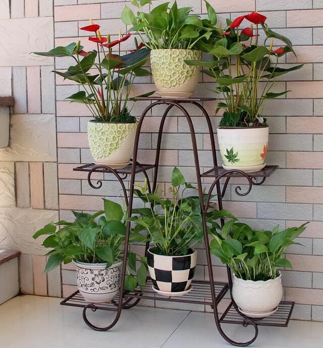 Imagenes con ideas decorativas en hierro forjado para el jardin