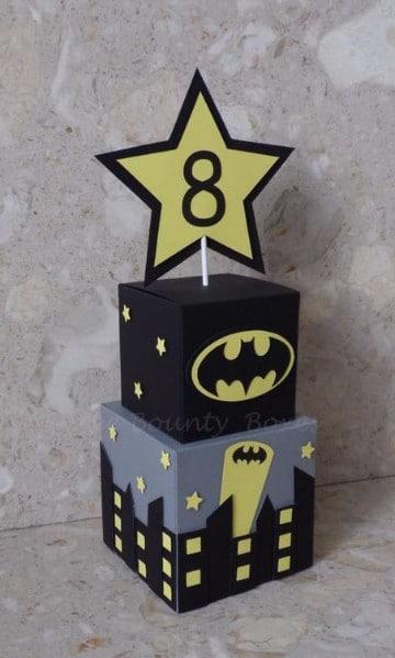 Imagenes De Dulceros Y Centros De Mesa De Batman