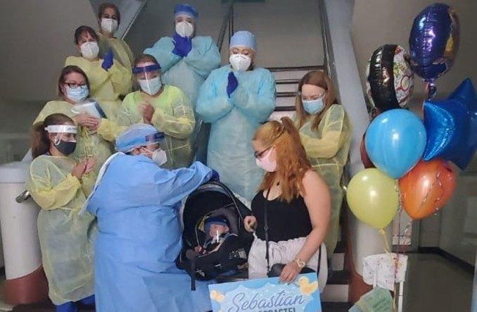 Bebé de 2 meses de nacido supera el COVID-19 en Mayagüez