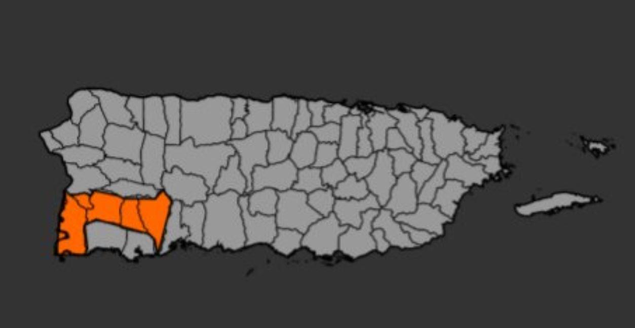 mapa inun
