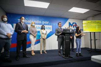 Miguel Romero presenta sus propuestas de seguridad para San Juan