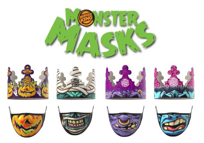 Llegan los Monster Masks a Burger King®