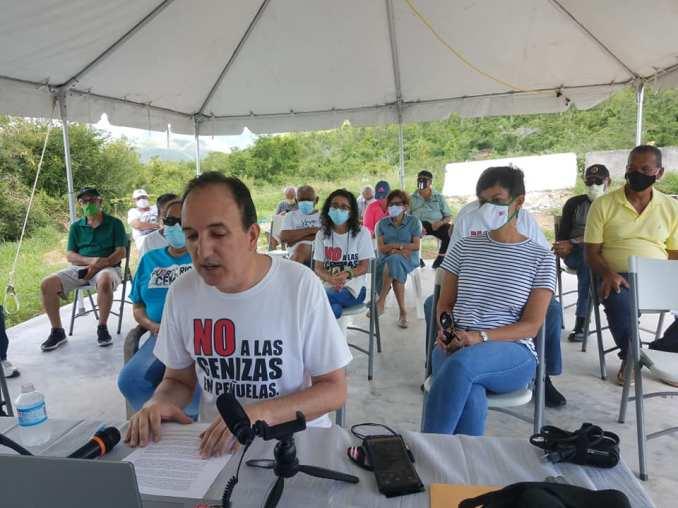 "Activistas de Peñuelas contra las cenizas de carbón ""inaugurarán"" a Pedro Pierluisi"