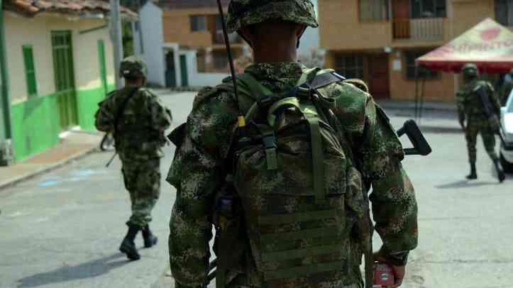 Siete municipios de Cundinamarca serán militarizados