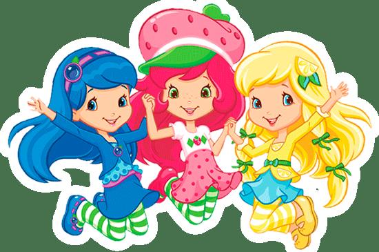 Frutillitas y amigas