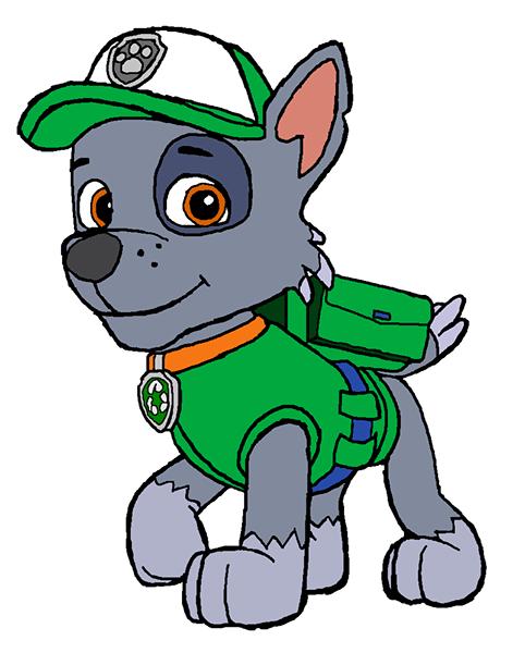 Rocky paw patrol Clipart