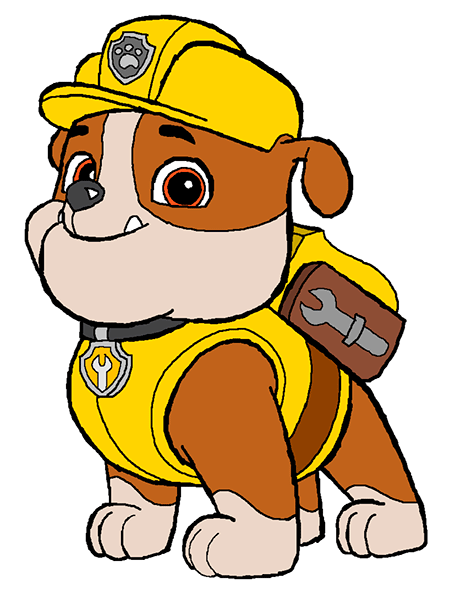 Rubble paw patrol clipart