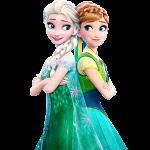 Elsa y Anna Frozen 2 – Fiebre Congelada –