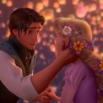 Imágenes de Rapunzel y Flynn Ryder -Enredados-