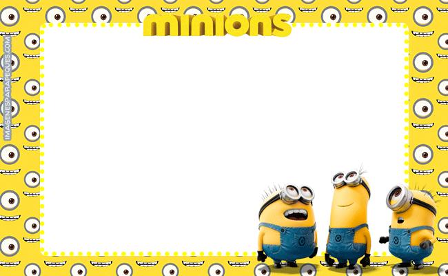 Minions tarjetas stickers