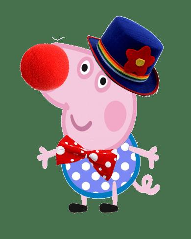 George Pig disfrazado