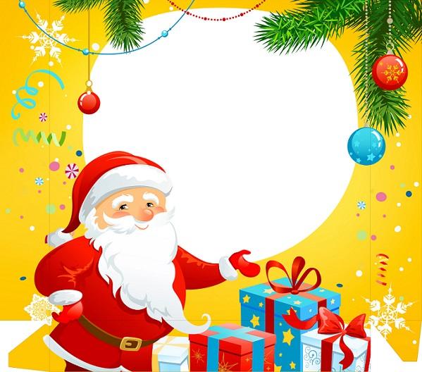 Imagenes De Papa Noel De Navidad.Imagenes Y Tarjetas De Feliz Navidad Y Papa Noel Imagenes