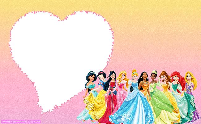 Princesas Disney imagenes marcos