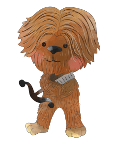 Chewbacca clipart png