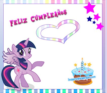 Cumple My Little Pony
