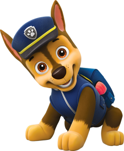Chase policia paw patrol