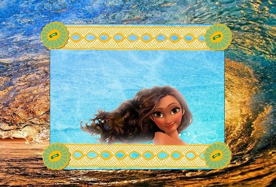 Moana imagenes - moana marcos infantiles - tarjetas moana - imagenes moana - marcos moana - stickers moana - etiquetas moana