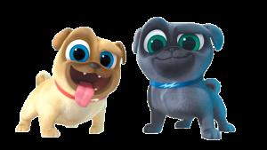 Bingo y Rolly Puppy characters