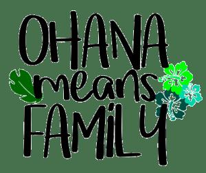 Ohana Lilo y Stitch