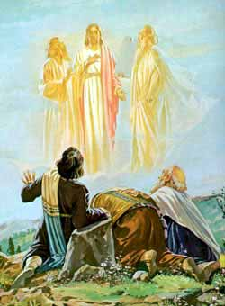 Resultado de imagen para imagenes transfiguración de jesus