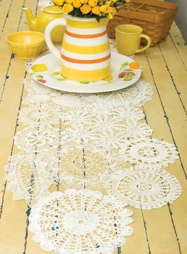 caminho de mesa café da manha