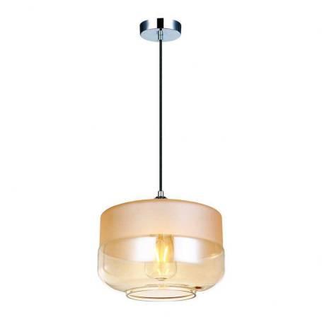 Com a estrutura que o fixa na parede cromada, este é o lustre OP044C. O interior de sua cúpula de metal é espelhado, o que torna o seu design atual e luxuoso. Mede 17,5cm de altura por 24cm de diâmetro e, nas Lojas Yamamura, sai por R$ 407. Seu código é 8624333.