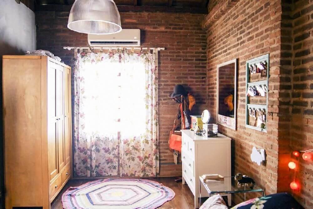 casas de campo quarto de solteiro casa aberta 18541
