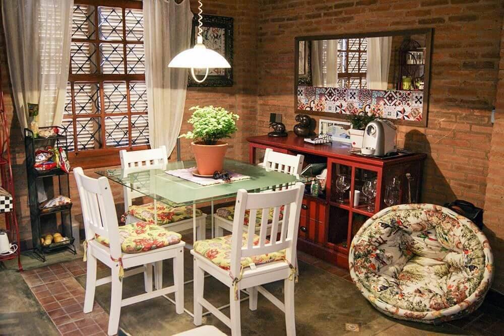 casas de campo sala de jantar casa aberta 18534