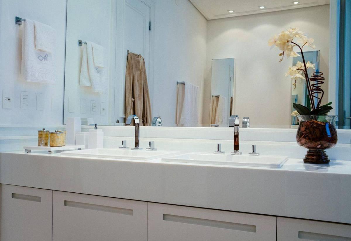 torneiras para banheiro da deca duplo espelhado