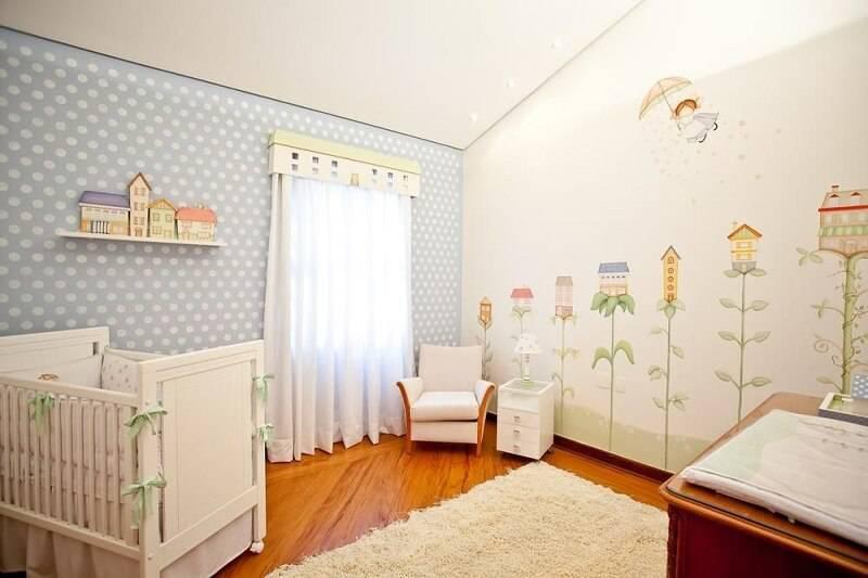Papel de Parede no quarto de bebe luciatacla 75278