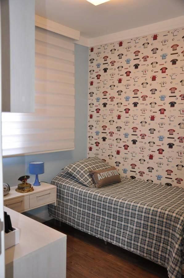 Papel de parede quarto de solteiro serravaz 34255
