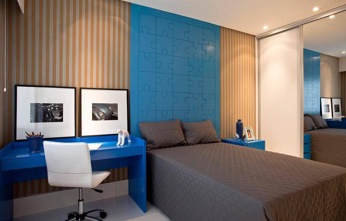 cadeiras quarto de solteiro branca couro sq arquitetos associados 65680
